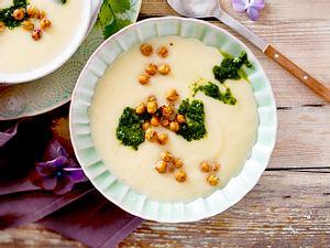 Blumenkohl-Kartoffel-Cremesuppe Rezept-F8596901