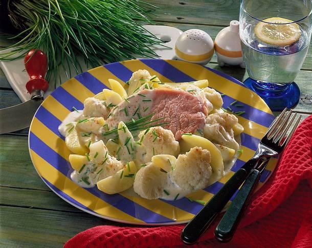 Blumenkohl-Kartoffelteller Rezept