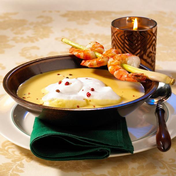 Blumenkohl-Kokos-Suppe Rezept