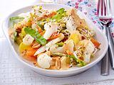 Blumenkohlsalat mit Erdnusssoße Rezept