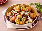 Blumenkohlsalat mit Falafel Rezept