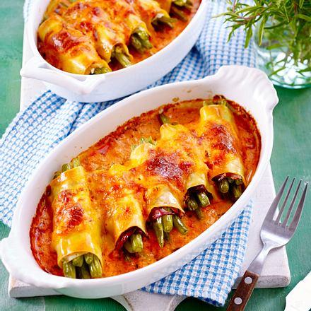 Bohnen-Cannelloni Rezept