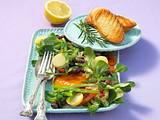 Bohnen-Kartoffelsalat mit Oliven Rezept