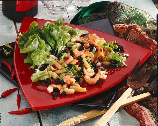 Bohnen-Krabben-Salat Rezept
