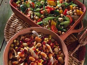 Bohnen-Maissalat in süß-saurer Specksoße Rezept