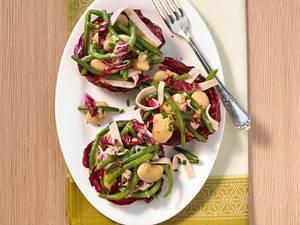 Bohnen-Radicchio-Salat Rezept