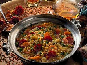 Bohnen-Topf mit Cabanossi Rezept