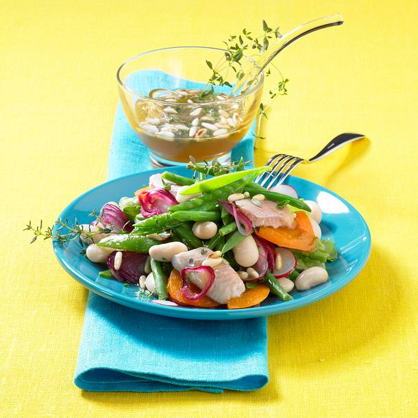Bohnensalat ohne Marinade Rezept