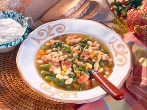 Bohnensuppe mit Kasseler Rezept