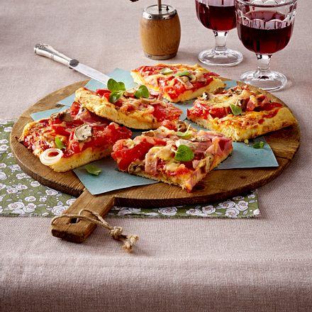 Bolivianische Pizza Rezept