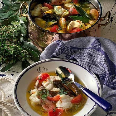 Bouillabaisse (Fischsuppe) Rezept