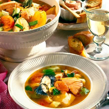Bouillabaisse (Französische Fischsuppe) Rezept