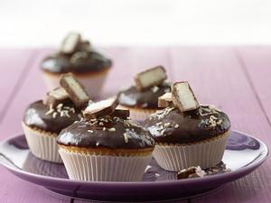 Bounty-Muffins im Schokladenmantel Rezept