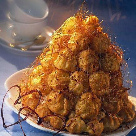 Brandteig-Mascarpone-Torte Rezept