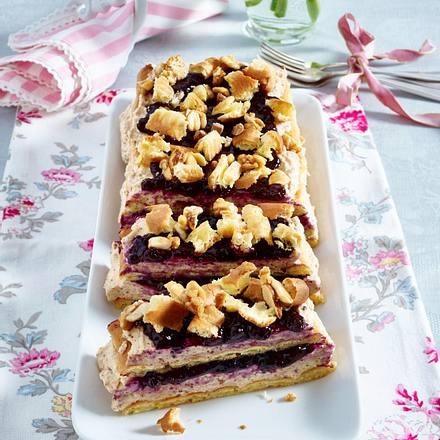 Brandteig-Nuss-Torte Rezept