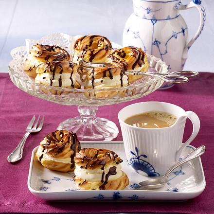 Brandteigkringel mit Vanillecreme (Diabetiker) Rezept
