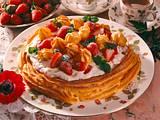 Brandteigtorte mit Erdbeer-Joghurtfüllung (Diabetiker) Rezept