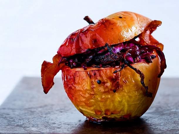 Bratapfel Baconschmaus Rezept