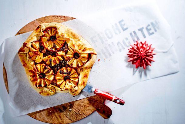 Bratapfel-Crostata  rezept