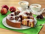 Bratapfel-Dominostein-Kuchen Rezept