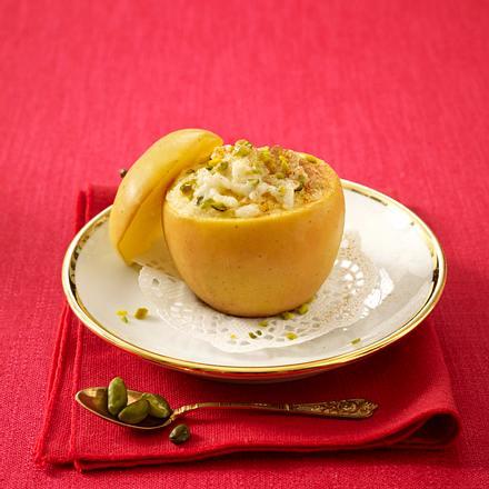 Bratapfel mit Zimt-Milchreis Rezept
