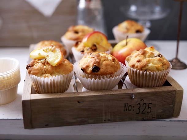 Bratapfel-Muffins Rezept