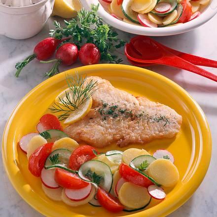 bratfisch mit kartoffelsalat rezept chefkoch rezepte auf kochen backen und. Black Bedroom Furniture Sets. Home Design Ideas