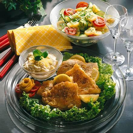 Bratfisch mit Zitronensoße Rezept