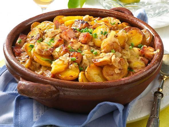 Bratkartoffel-Auflauf mit Kasseler Rezept