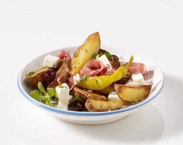 Bratkartoffeln mit Fenchel und Feta Rezept