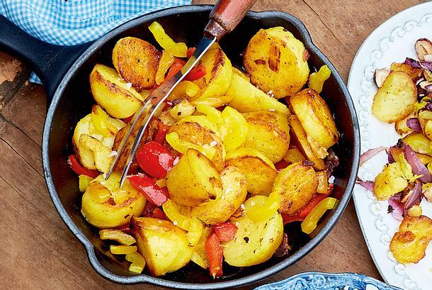 Bratkartoffeln mit Paprika Rezept
