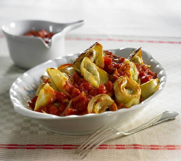 Brattortelloni mit Tomaten-Ingwer-Soße Rezept