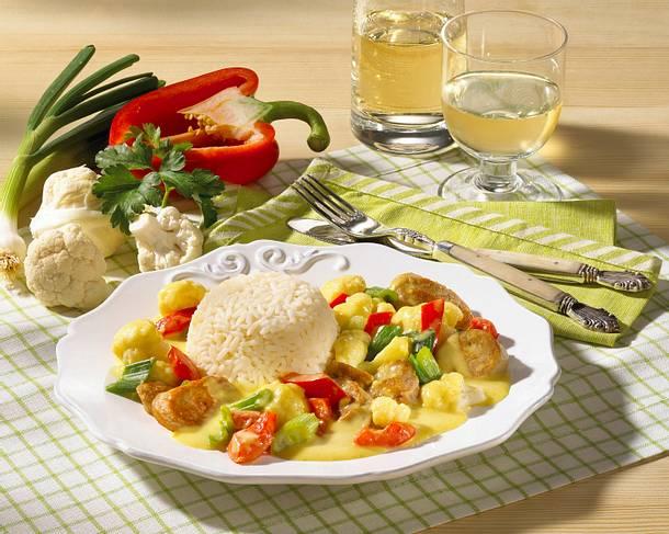 Bratwurst- Blumenkohl-Ragout Rezept