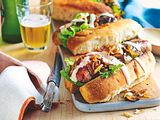 "Bratwurst-Sandwich ""Moneysaver"" Rezept"