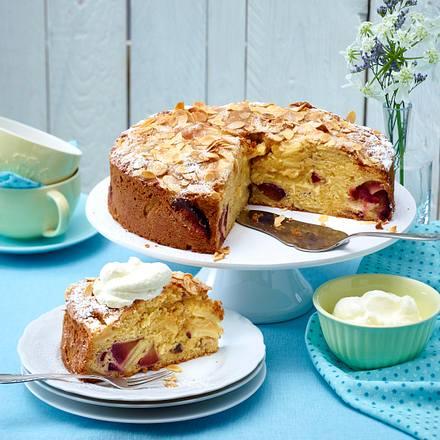 Bretonischer Apfel Pflaumen Kuchen Rezept Lecker