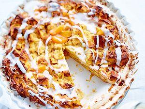 Brioche-Pudding-Cake mit Aprikosen Rezept