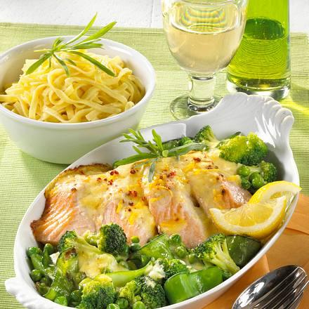 Broccoli-Fisch-Auflauf Rezept