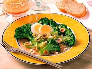 Broccoli in Eier-Vinaigrette Rezept