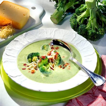 Broccoli-Käsesuppe Rezept