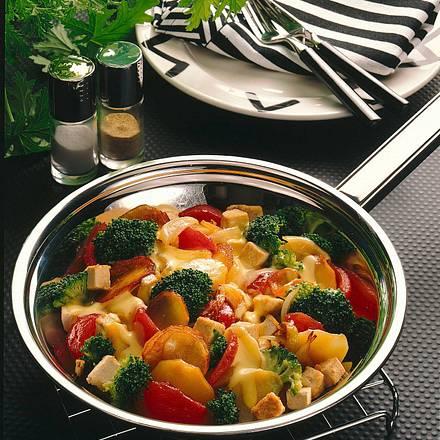 Broccoli-Kartoffel-Tofu-Pfanne Rezept