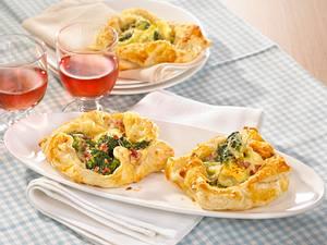 Broccoli-Pasteten mit Schinken & Käse Rezept