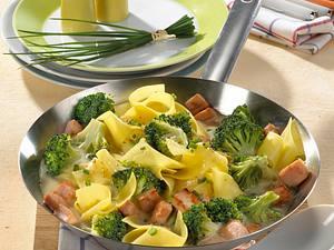 Broccoli-Pfanne mit Kassler Rezept