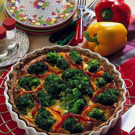 Broccoli-Quiche Rezept