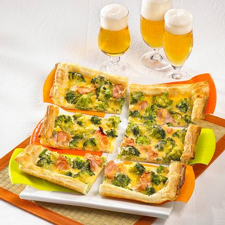 Broccoli-Schinken-Quiche Rezept
