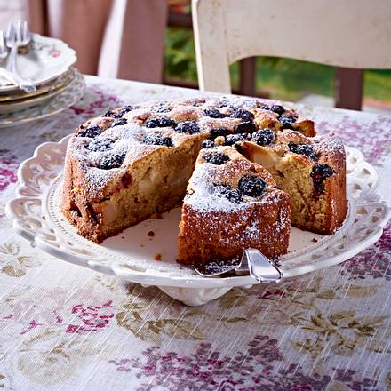 Brombeer-Birnen-Kuchen Rezept
