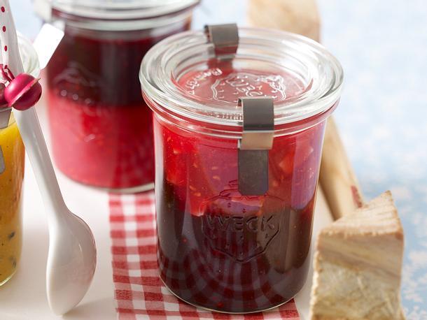 Brombeer-Cassis-Konfitüre (kalt gerührt) Rezept