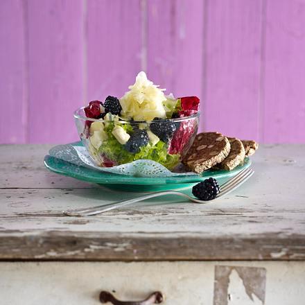 Brombeer-Käse-Salat Rezept