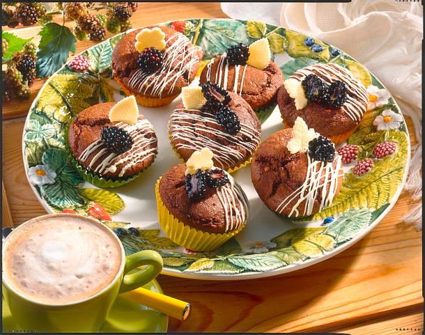 Brombeer-Muffins Rezept