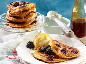 Brombeer-Pancakes rezept