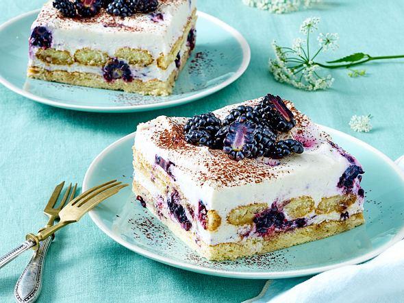 Brombeer-Tiramisu-Kuchen rezept